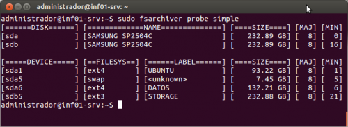 fsarchiver_probe